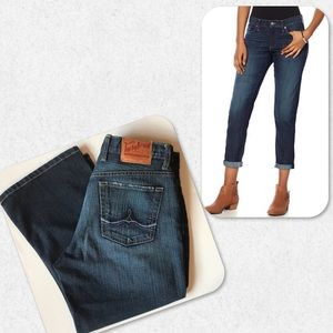 Lucky Brand Button Fly Crop Jeans